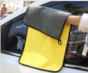 High Quality 800GSM Extra Thick Super Absorbent Car Washing Cloth Microfiber Polish Towel Tablet Cloth Car Polishing Towel
