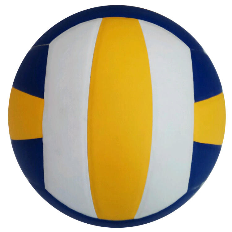 Custom Colorful Laminated PVC Volleyball Ball Official Size 5 Soft Touch PVC PU Leather Volleyball