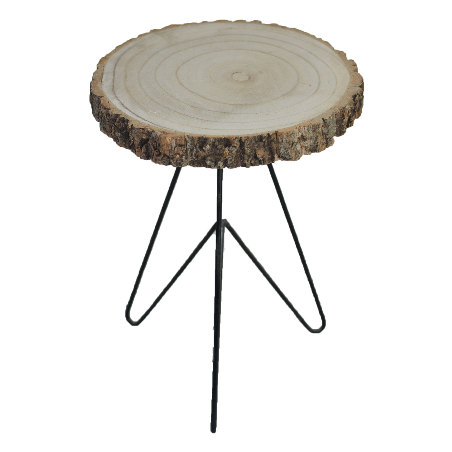 Hot Selling Good Quality Round Eound Solid Wood Side Table