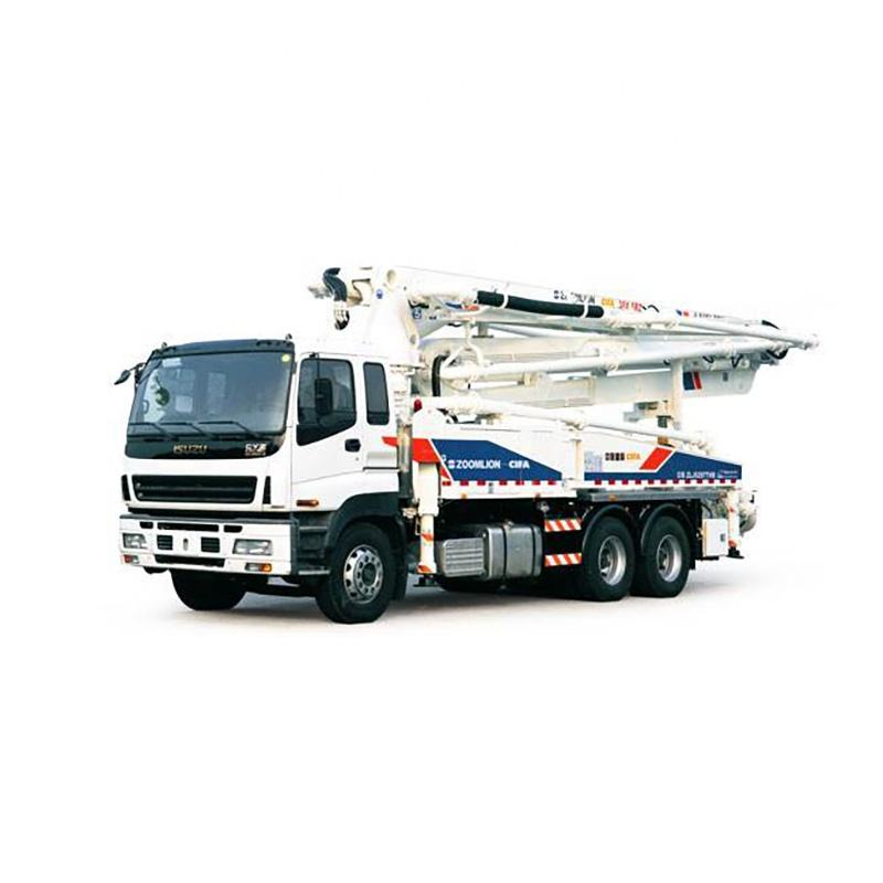 Best Sale High Quality 2012 Year Truck Mounted Concrete Pump 38 Meter Zoomlion Concrete Pump Truck For Sale