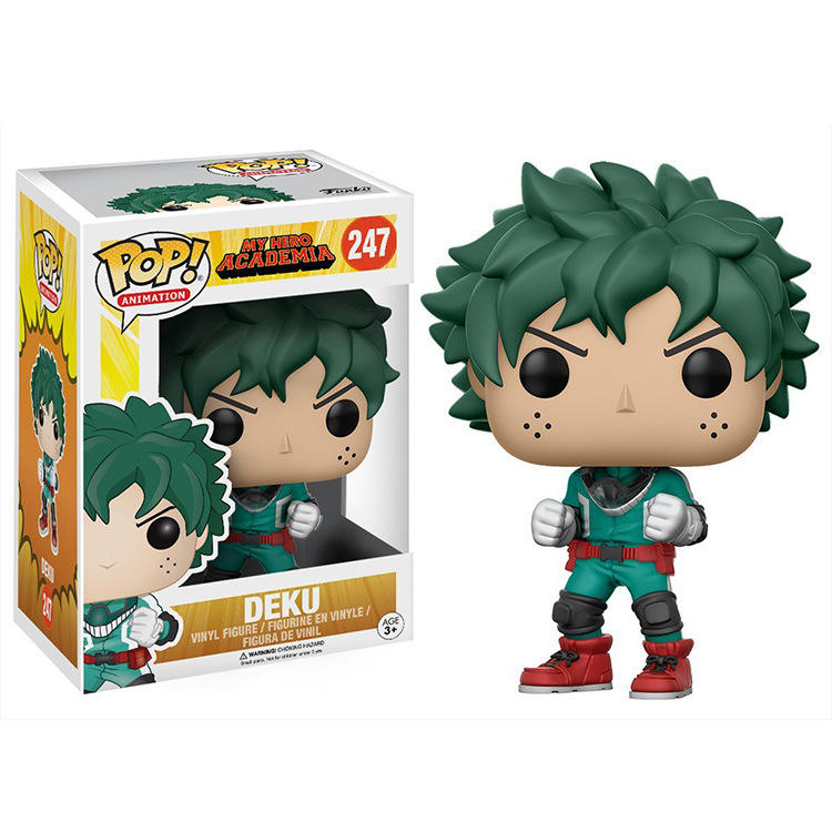 POP Animation My Hero Academia Funko POP Vinyl Figure DEKU#247 Mini PVC Figure Collection Toys
