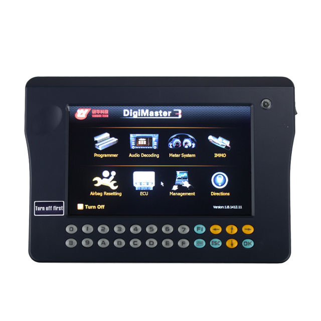 Original Yanhua Digimaster 3 Odometer Correction Master No Token Limitation Plus OBD II AdapterとCableためKey Programming