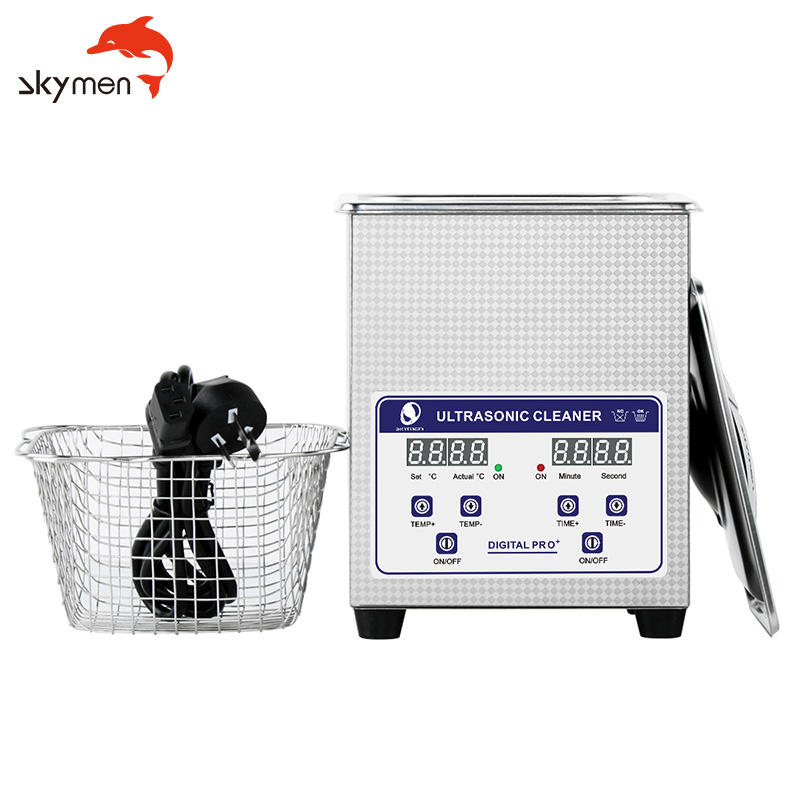 Skymen 2L JP- 010S for jewelry, eye glasses, shaver blades etc. small parts cleaning equipment ultrasonic cleaner