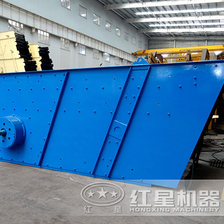reliable structure aggregate vibrating sieve screen of 200TPH on model 2/3/4YK2160
