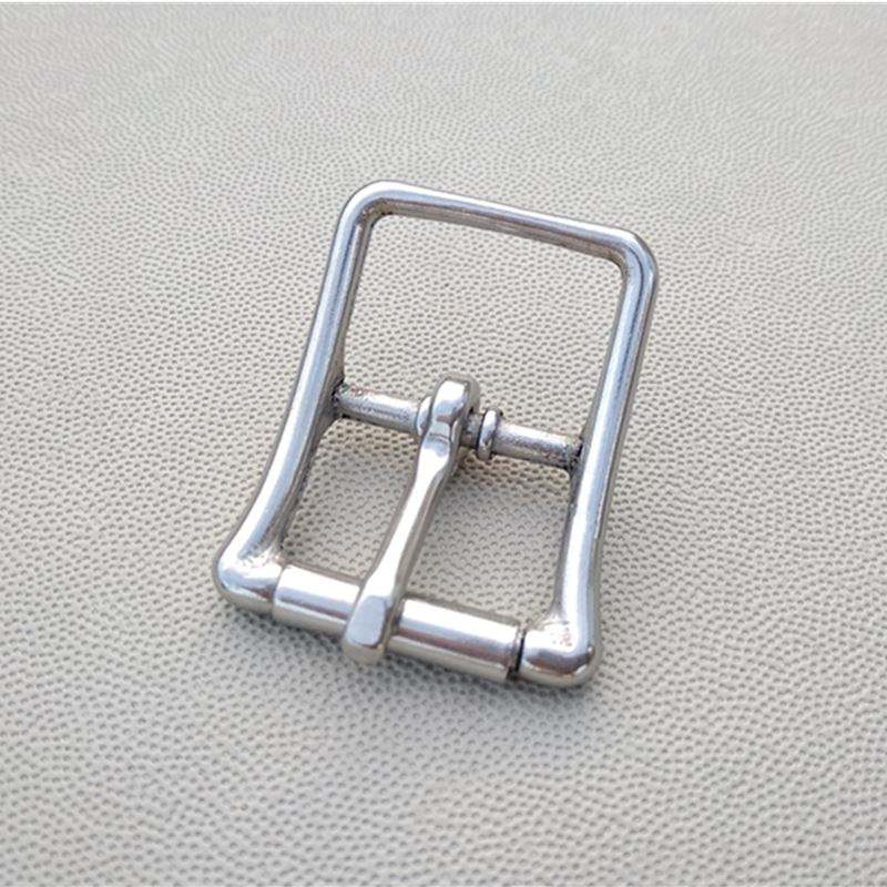 21mm Stainless Steel BuckleWith Roller Metal Buckles Pin Buckle For Garment Bag Leather Buckle
