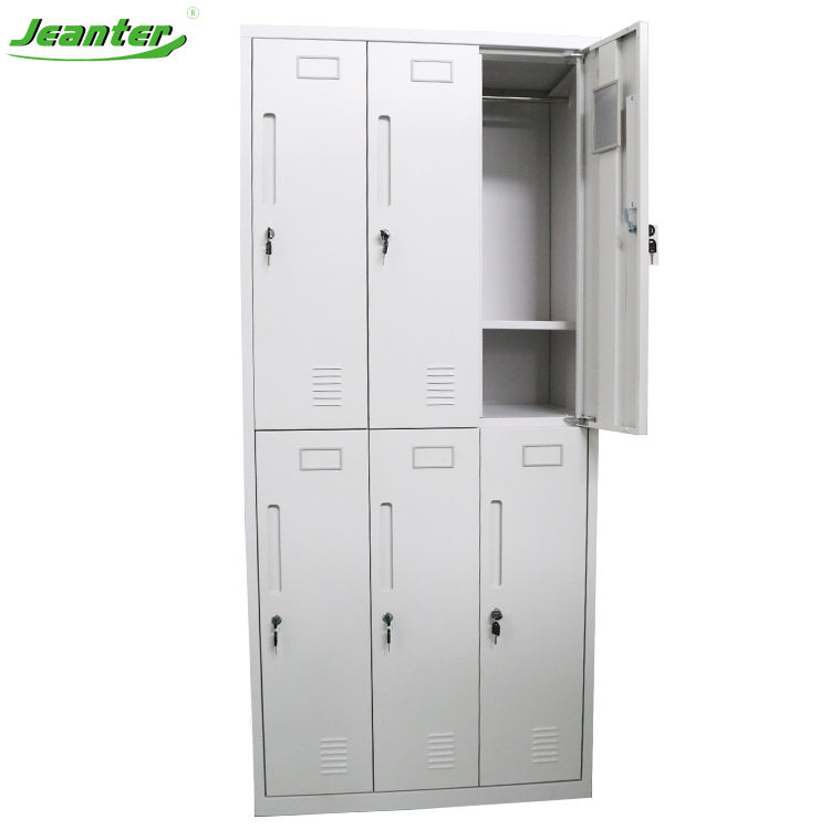 Locker with Shelf Packaging Customization Combined Digital Military Wall Lockers with Hanging Rod Shelves