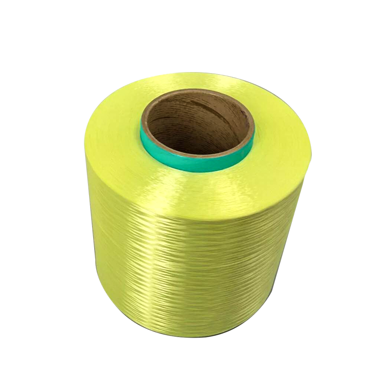 Bullet Proof Filament 150D-3000D Para Aramid Fiber Kevlar Filament Yarn Other Yarn Ne6s Ring SPUN Roll Packing