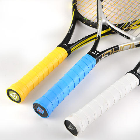 Soft Tennis Racket Grip Anti-slip Sweat Band New Frosted Fishing Rod Wraps SU
