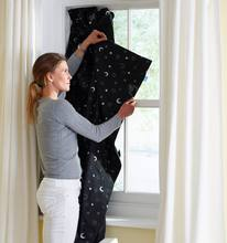 Portable Travel Blackout Window blind window curtain with suction cup and magic tape