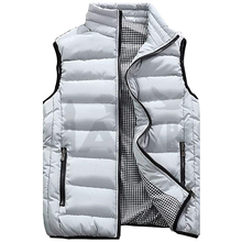 Fashion-Metallic Men Bubble Winter Warm Bubble Vest