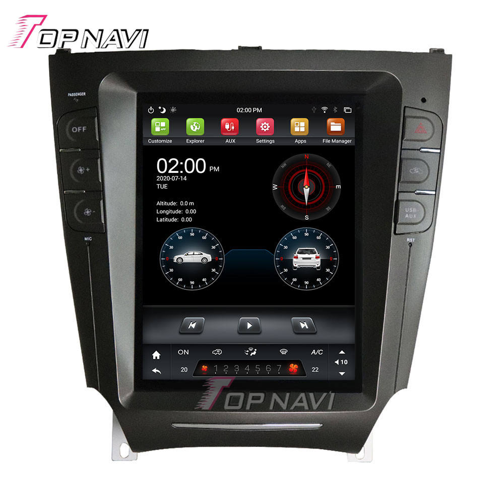 9.7 ''Ips Touchscreen PX6 Dsp Auto Video Audio Player Voor Lexus IS250 IS300 IS200 IS220 IS350 2005 <span class=keywords><strong>2012</strong></span> android 9.0 Auto Radio