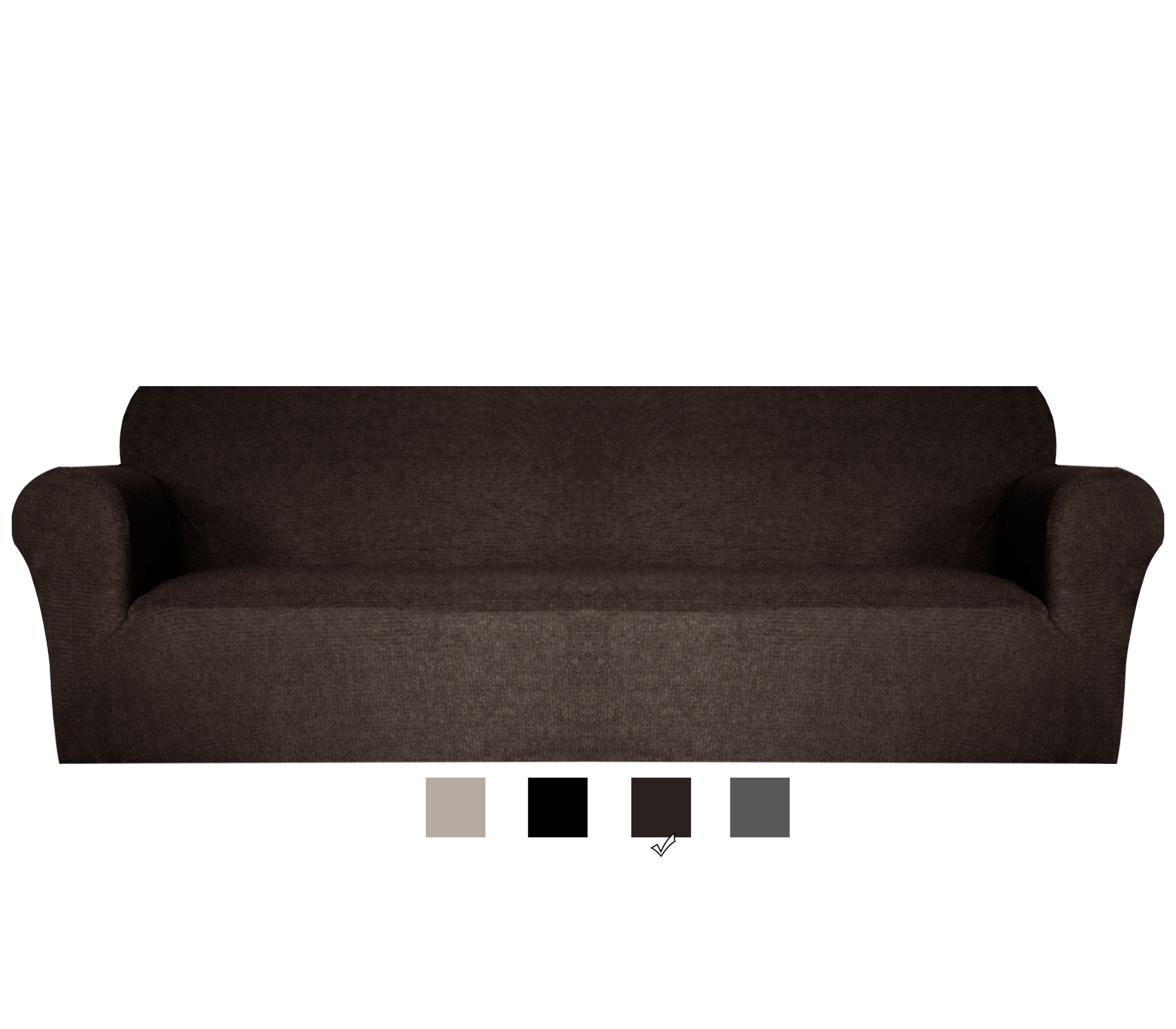 Is Recommended Latest Design Coffee Colour Protective Sofa Cover The Four Seats