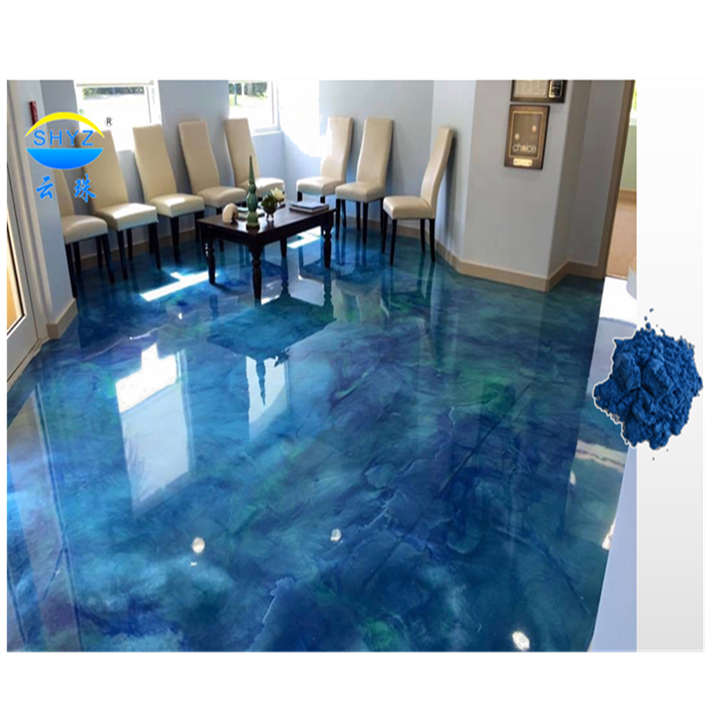 Factory price environmentally friendly epoxy metallic floor pigment