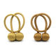 Magnetic ball curtain tiebacks accessories for roman curtains