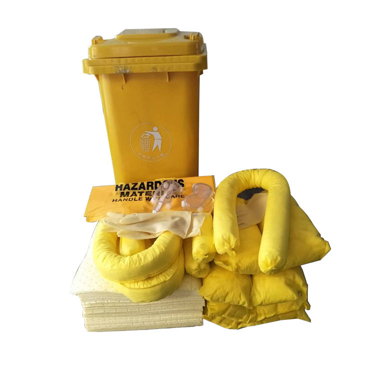 120L Spill control chemical absorbent spill kit