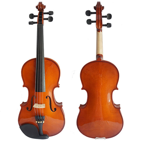 Sinomusik wholesale factory price high grade OEM violin with free triangle foam violin case size 4/4-1/16 for sale made in China