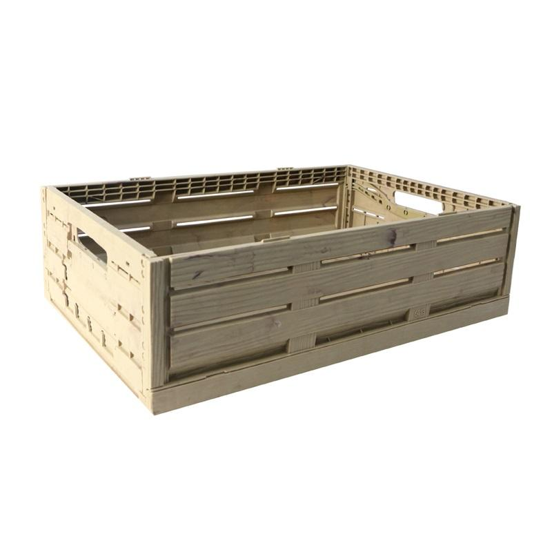 Heavy Duty Nestable Collapsible Folding Stackable Plastic Crates