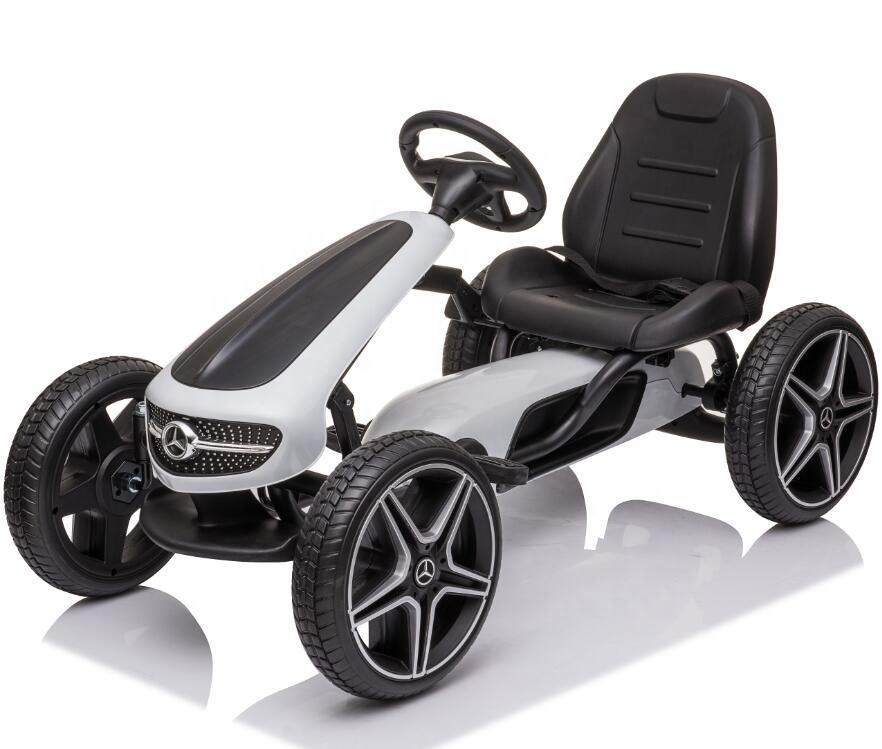 2020 New Mercedes Benz Licensed Kids Pedal Go Kart Cheap Go Karts For Sale