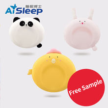 Aisleep Infant Head Support Prevent Flat Memory Foam Baby Organic  Protective Sleeping Pillow