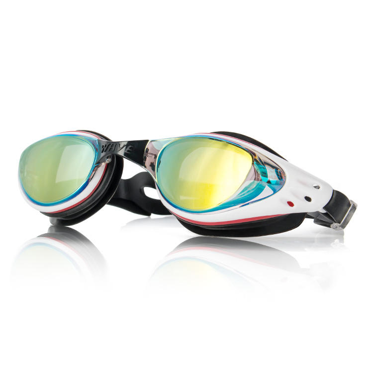 New Arrival Best Myopia Professional Swimming Goggles No Leaking Anti Fog UV Protection Swim Goggle With Diopter