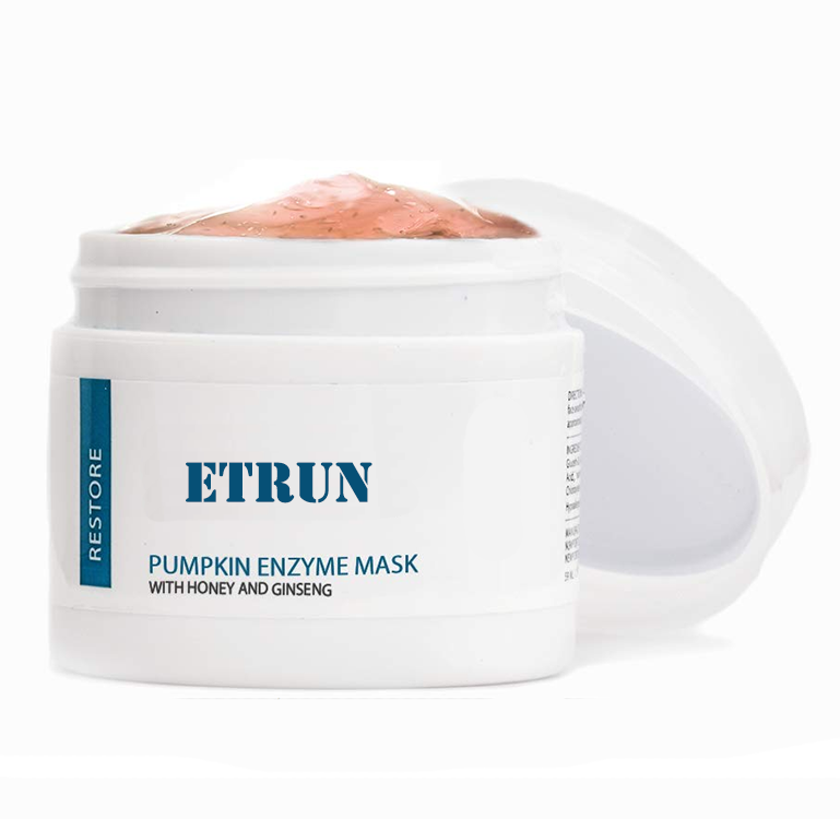 OEM Pumpkin Enzyme Face Mask with Honey for Intense Hydration & Anti-Aging Nourishment