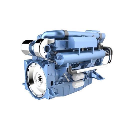 Weichai WP12 series marine diesel engine (258-405kW) for sale