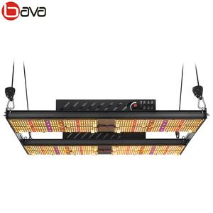 Bava smart 4 switches 480w led grow board replacing 1000w hps grow light fixture lm301h mix UV IR Red 660nm grow light