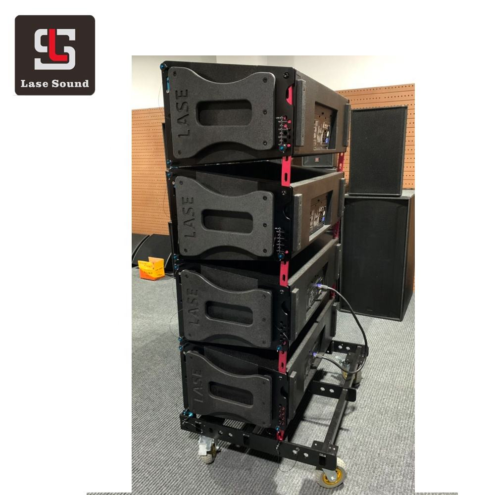 Top Dual 10 inch line array sound system professional audio 2 way speakers