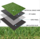 Landscaping Artificial Synthetic Grass Lawn for Backyard Garden Decoration