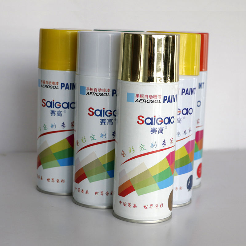 Top Quality And Smooth Car Coating Clear Anti-Rust Waterproof Auto Aerosol Acrylic Auto Spray Paint
