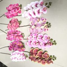 A-3176 Artificial Orchid Flowers Stem Real Touch Decor