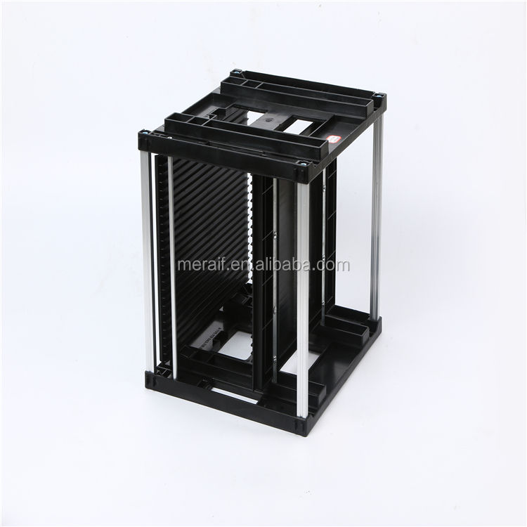 Factory wholesale pcb storage racks 355x315x315mm Antistatic ESD PCB Magazine Rack For SMT And PCB