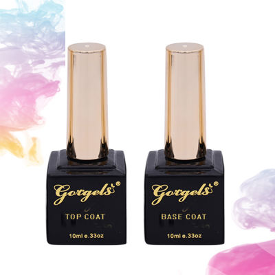 Gorgels Base Coat And Top Uv Nail Products Gel Polish