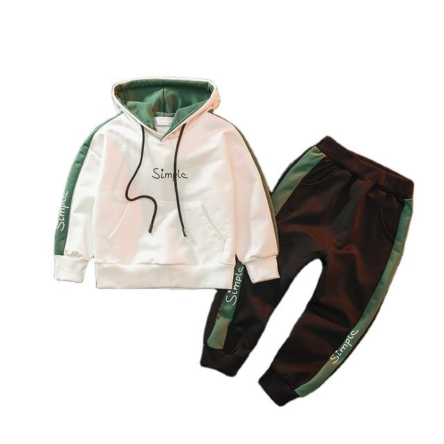 Ivy10030B European hot-selling kids boys 2pcs clothing sets spring and autumn 2019 sport clothing sets