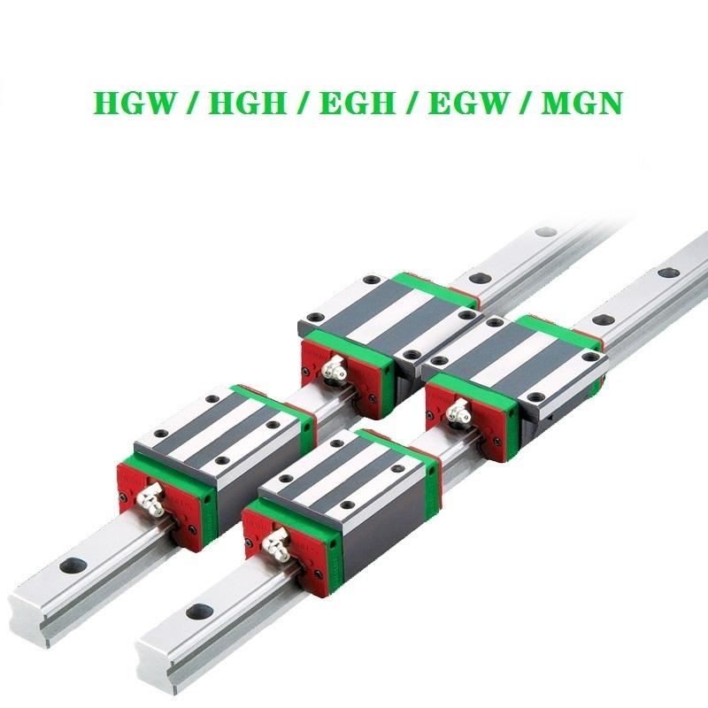 HGH20CA linear guides rail block HGH15CA HGH25CA HGH30CA guide rail length 1000 1500 2000 mm for CNC 3D printer