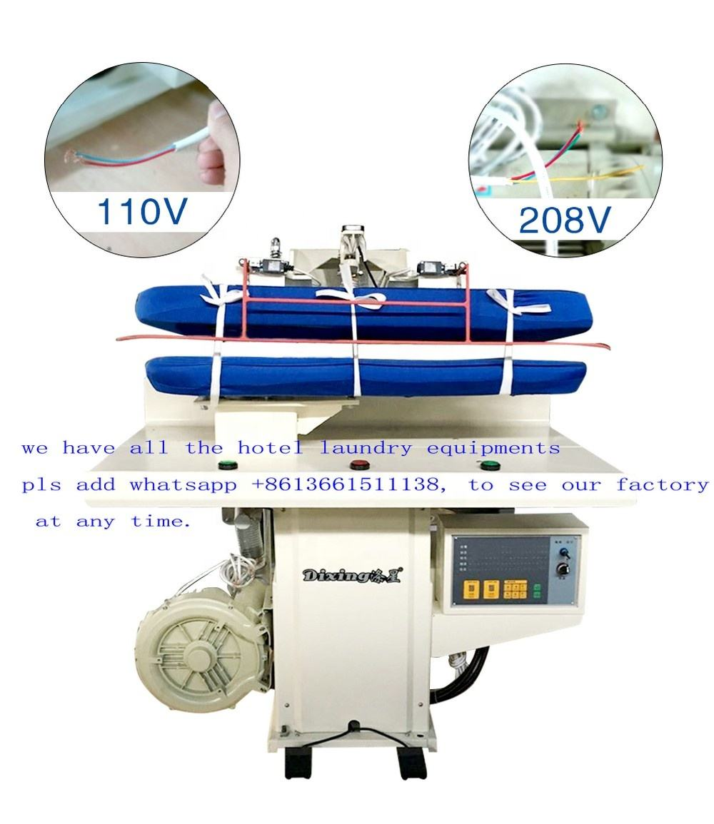 2020 laundry steam press iron equipment for sale utility press machine