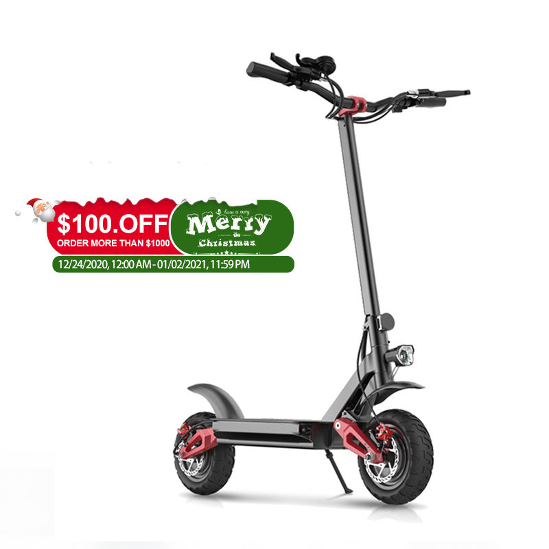 2020 New Generation Ecorider E4-9 Fast Foldable Off Road Dual Motor Electric Scooter 3600w