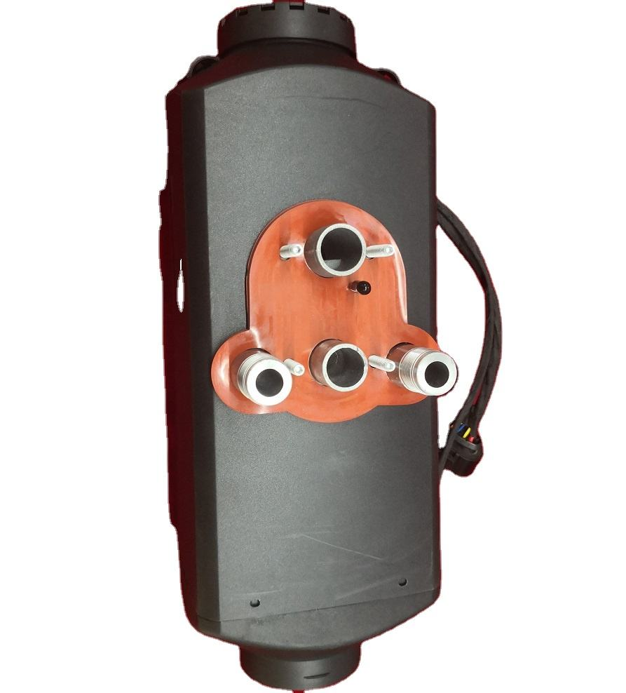 5KW 12V Hybrid Air Water heaters integrated heaters 5kw 24v All Black Color Diesel air heater 7KW 24V