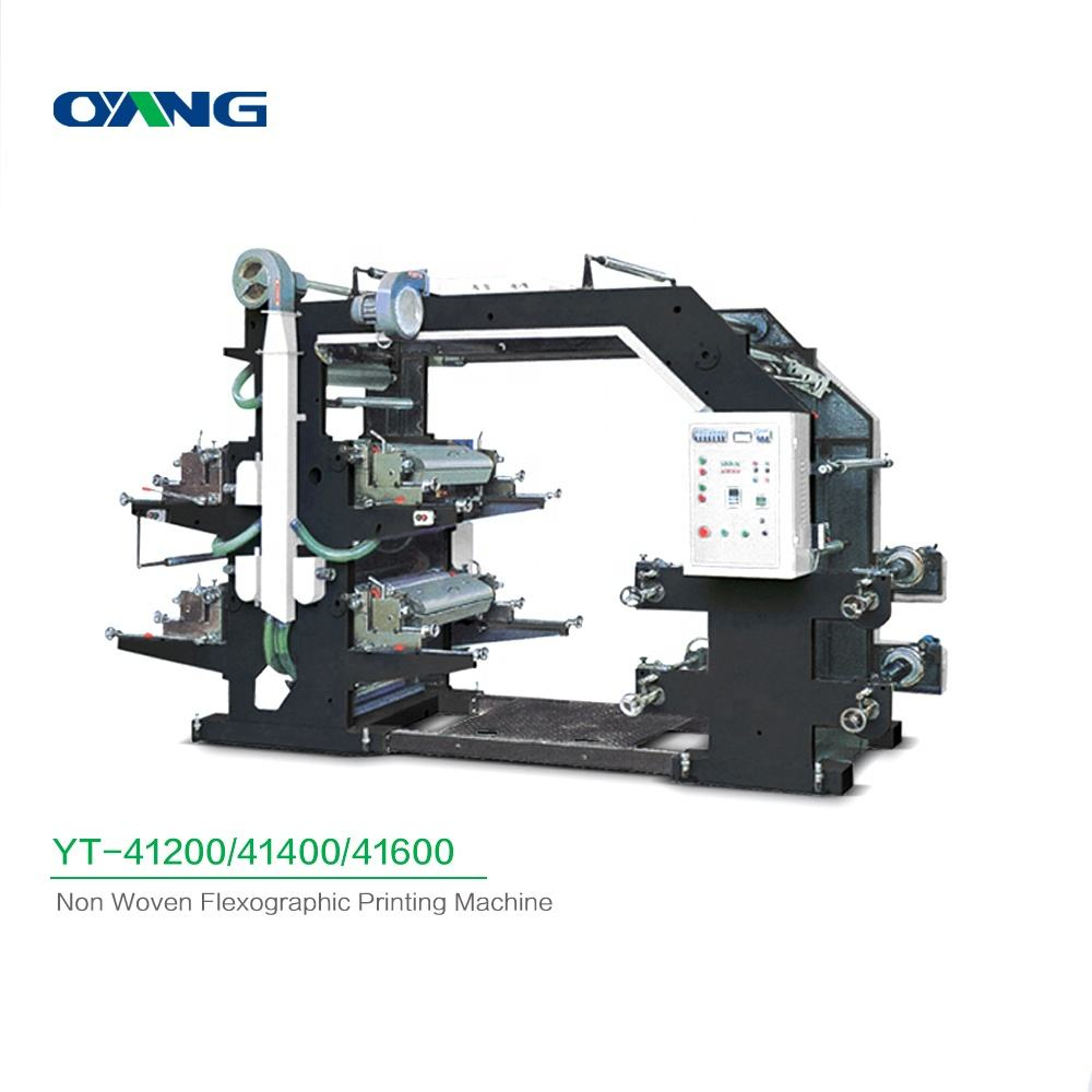 High Standerd Quality Non Woven Bag Printing Machine Manufacturers, Automatic 4 Color Flexo Printing Machine