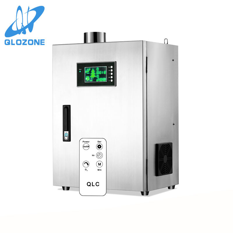 multi-line screen LCD remote control commercial odor neutralizer high quality ozone generator