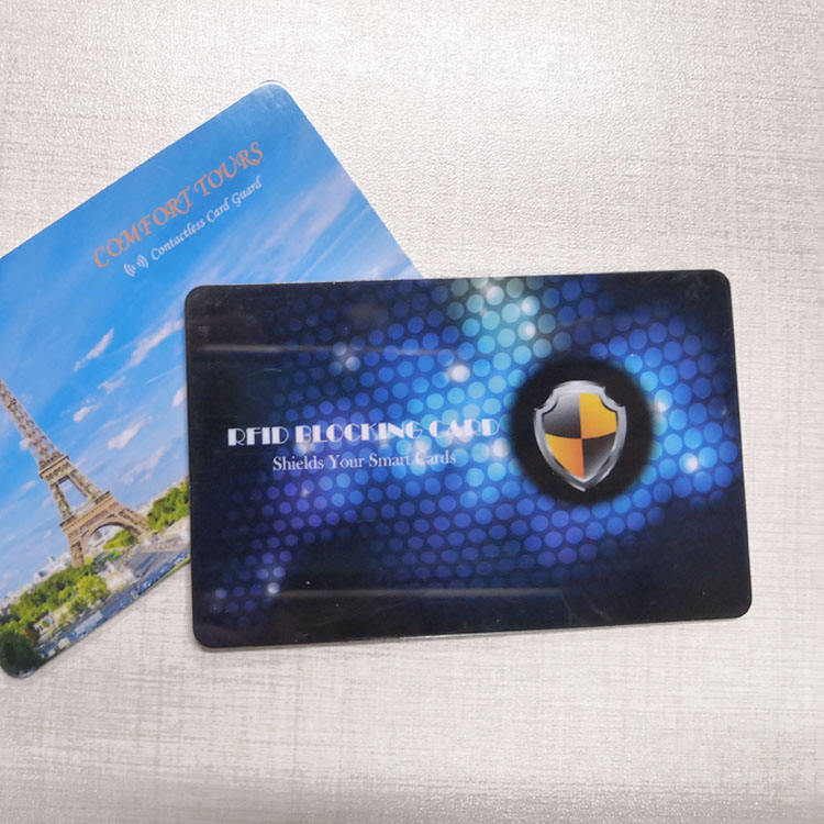Safety RFID Blocking Card to Prevent Debit and Credit Card from Skimming
