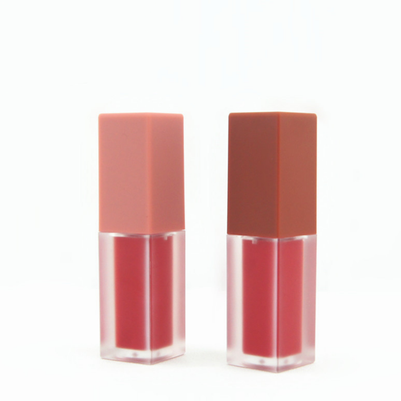 5ml 5g Hot Sale DIY frosted Square Lip gloss Tubes Empty Plastic Lip gloss Cosmetic Container