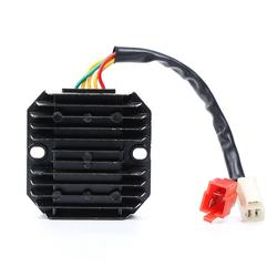 Top Quality Motorcycle Spare Parts And Accessories 5 Wires 18 Poles Motorcycle Voltage Regulator Rectifier