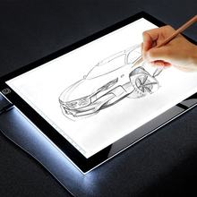 smart illumination digital tablet for kids a4 led adjustable drawing board with power button