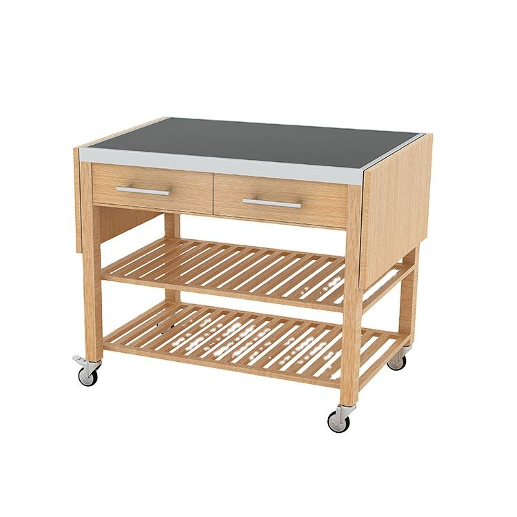Service Cart Trolley Tking Hotel Food Services Trolley Foldable Service Cart Chinese Dim Sum Food Station Factory Prices