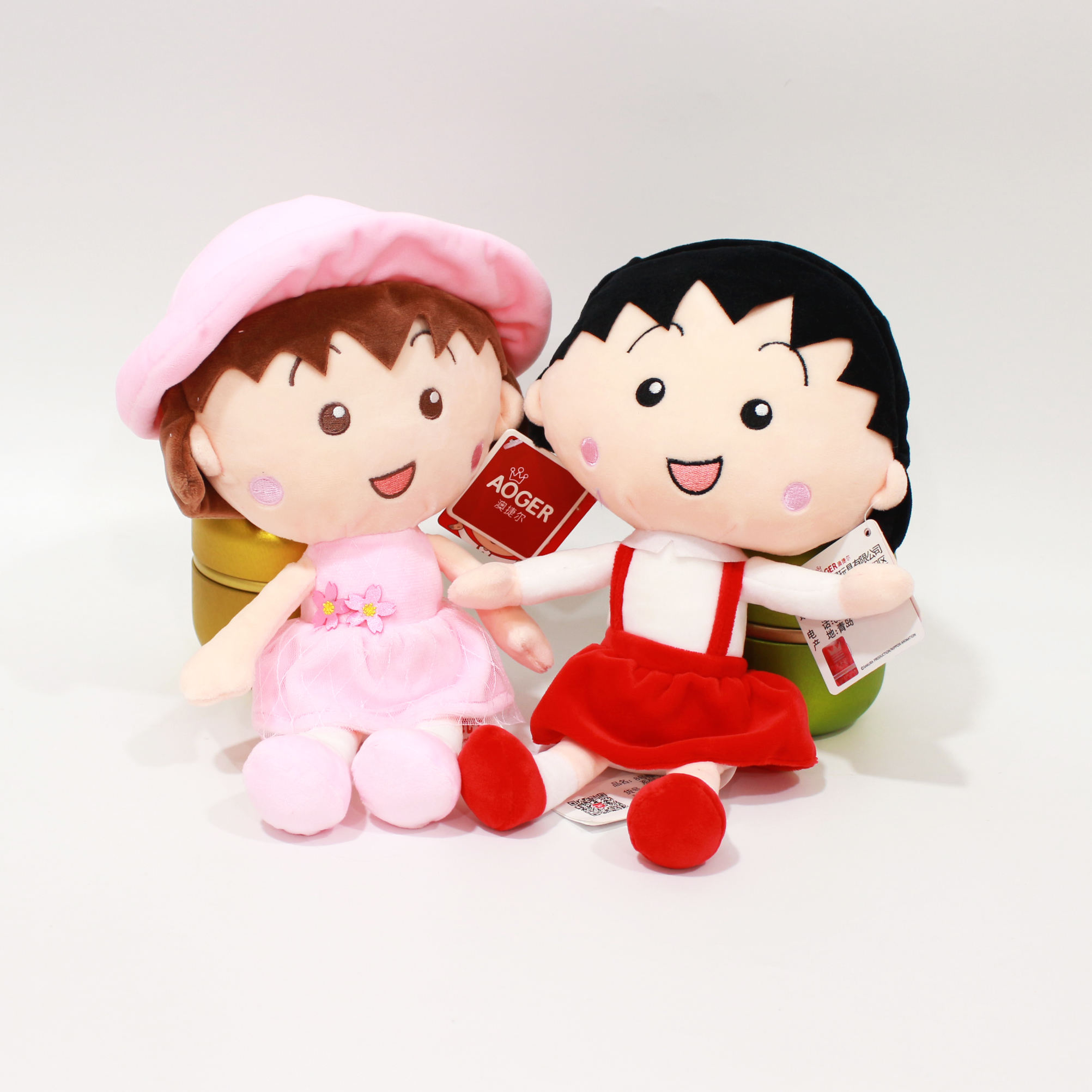 High quality soft plush red wall ball Zen plush toys Lovely