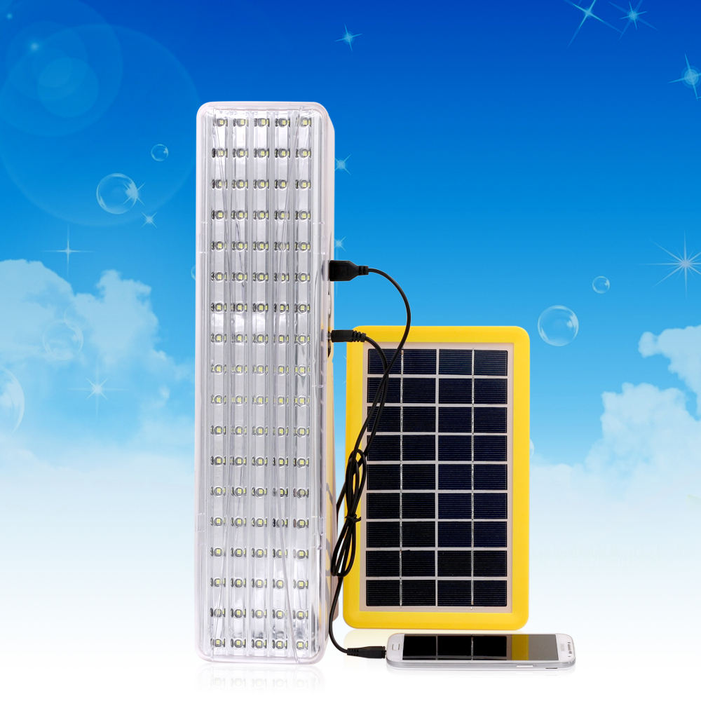 Dongguan Produsen 90 LED Utilitas Ulang Lampu Emergency Light Serbaguna Indoor Outdoor Camping Pencahayaan