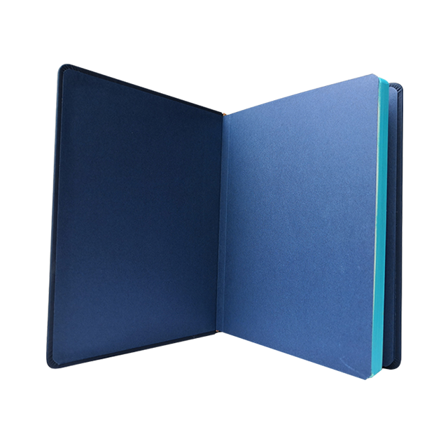 Blu Riutilizzabile Eco-Friendly Bamboo Notebook Hardcover