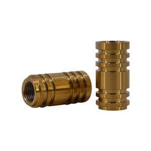 Copper Brass Precision CNC Turning Parts CNC Turned machining metal Pin Parts for robot