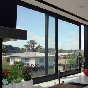 Frameloze Aluminium Sliding Glass Windows Voor Kantoorgebouwen